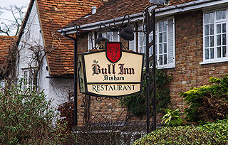 The Bull Inn at Bisham, Bucks